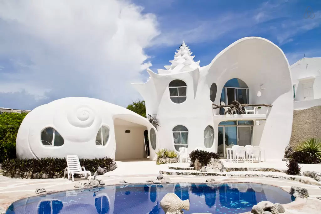 Caribbean Shell House - Isla Mujares, Mexico