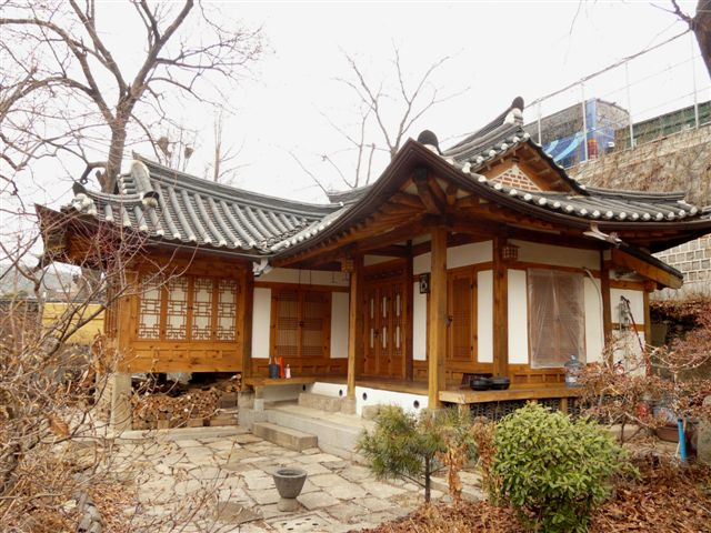 Traditional Hanok - Seoul, South Korea