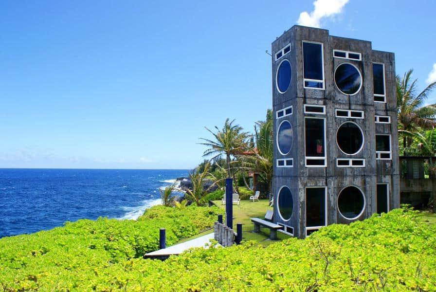 Concrete Boombox - Kehena, Hawaii