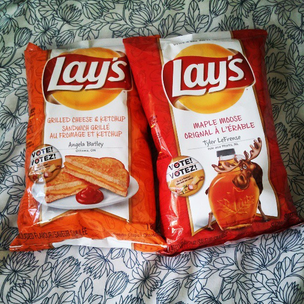 Lays Grilled Cheese and Ketchup