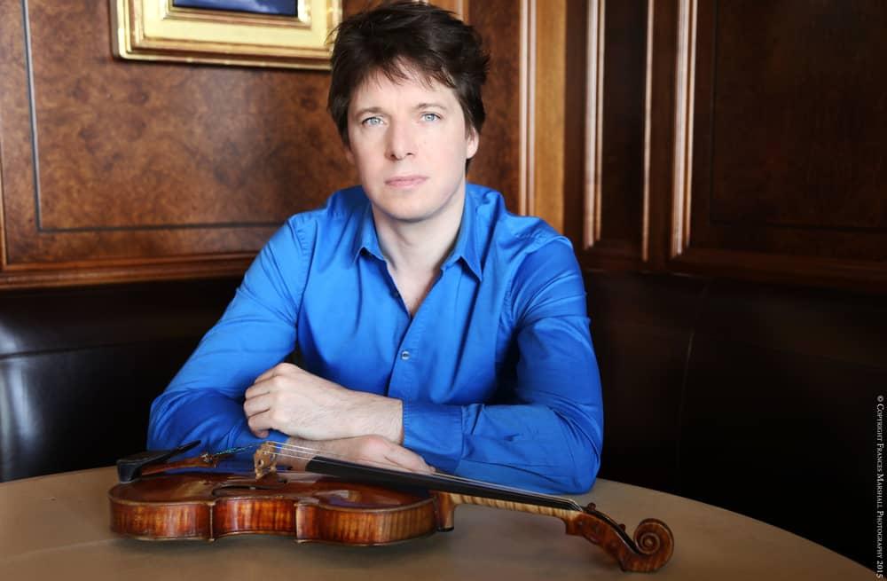 Josh Bell's Violin Display