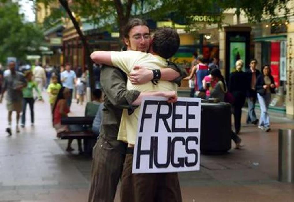 Juan Mann's Free Hug Campaign