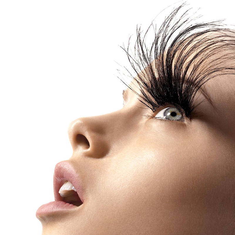 If you collected a lifetime worth of eyelashes it would measure