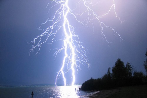 Lightning on the Lake