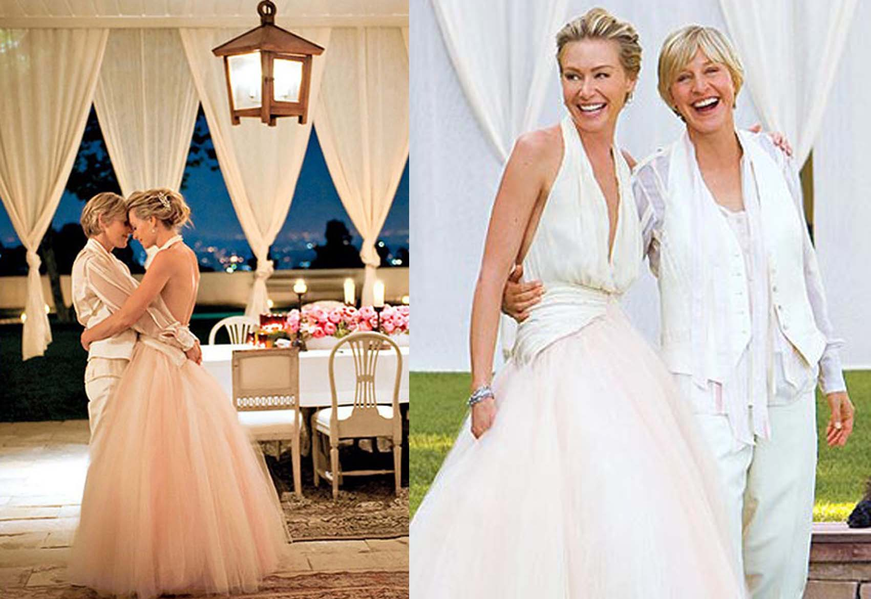 Ellen and her husband tied the knot in a lavishing wedding on August 16, 2008