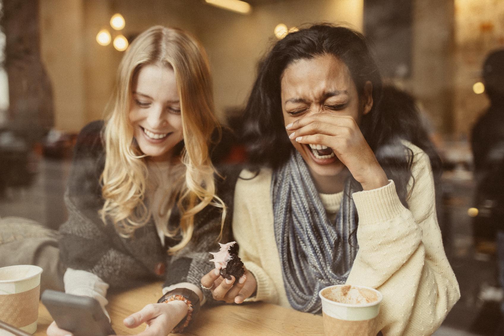 Laugh A Lot.
