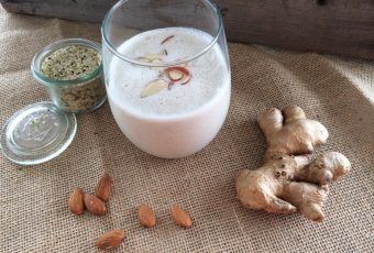 Almond Ginger Monkey Smoothie