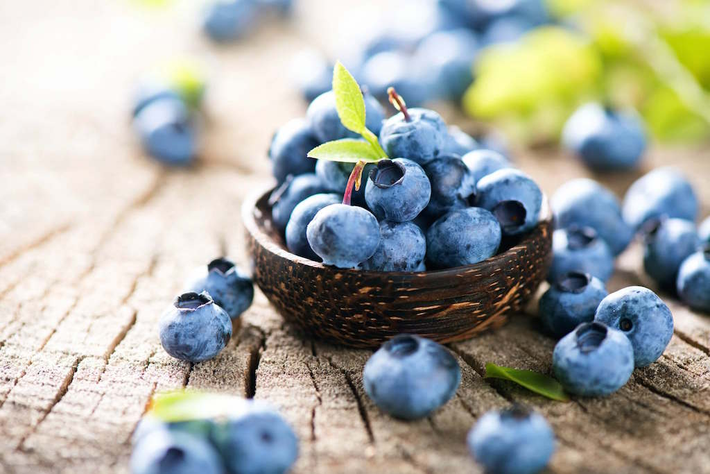Best For Smoothing Fine Lines Blueberries